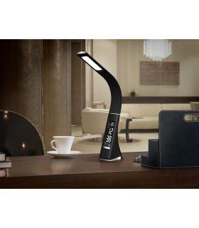Comprar online Lámpara Flexo LED con Pantalla Digital : Modelo ALIVE negro