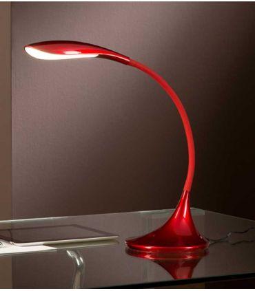 Lámparas LED Moderna para escritorios : Modelo SWAN Rojo