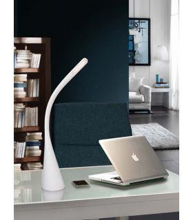 Comprar online Sobremesa de Estudio LED : Modelo LAIN Blanco