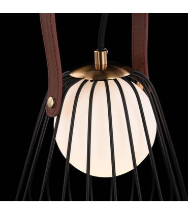Lámpara de Mesa con Varillas metálicas : Modelo INDIANA