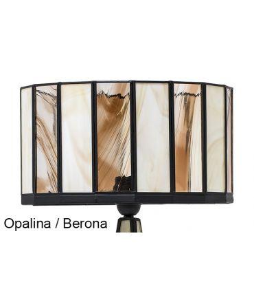 Lámparas de Mesillas de noche Base Cristal : Colección CICLOPE espejo