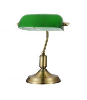 Comprar online Lamparita de Escritorio de Metal con Tulipa Verde : Modelo KIWI