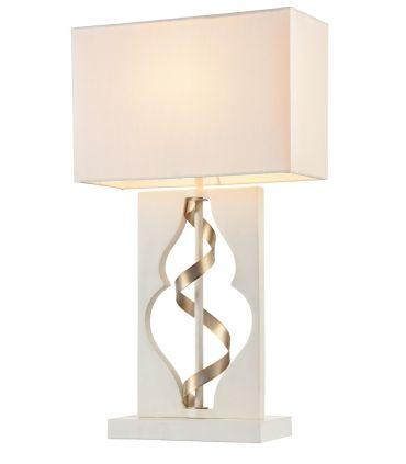 Lámpara de Sobremesa : Colección INTRECCIO blanco