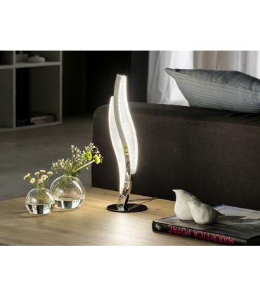 Lamparita LED para Mesa acabado Cromo : Coleccion SINTRA