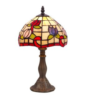 Lámparas Tiffany de Mesitas de Noche : Modelo TULIPAN