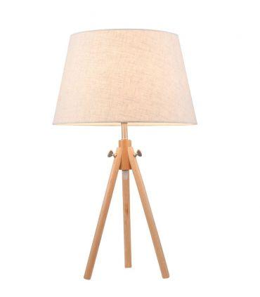Lámpara de Mesa de Madera : Modelo CALVIN