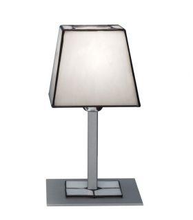 Comprar online Lámparas Sobremesa de Cristal Tiffany : Colección VETRO BLANCO