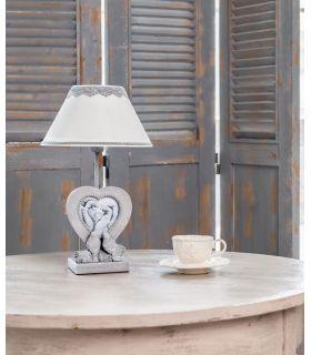 Comprar online Lámpara de Mesa Clásica con Portafotos : Colección BOUQUET