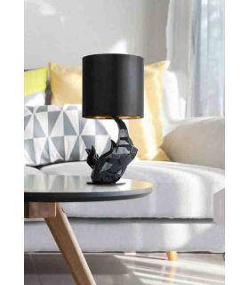 Comprar online Lámpara de Mesa Negra de Diseño Moderno : Modelo NASHORN