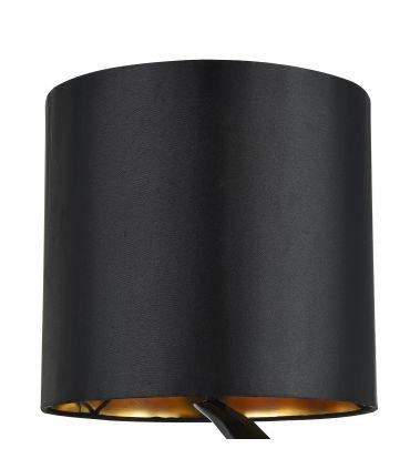 Lámpara de Mesa Negra de Diseño Moderno : Modelo NASHORN