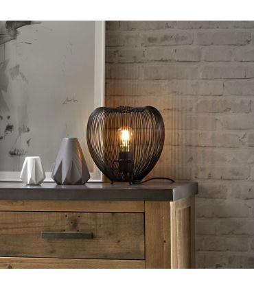 Lámpara de Mesa en Metal : Modelo TULIPAN