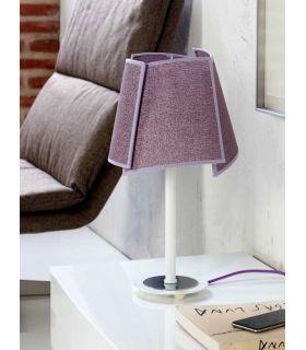 Comprar online Lámparas de Mesa con Pantallas : Modelo PETALOS