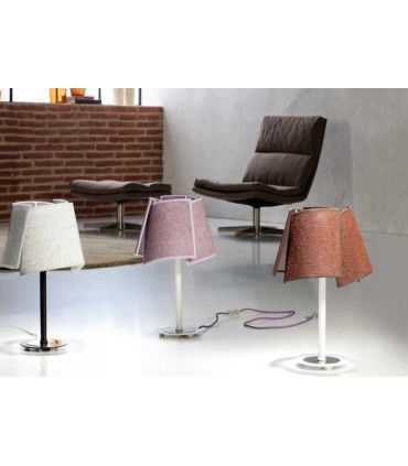 Lámparas de Mesa con Pantallas : Modelo PETALOS