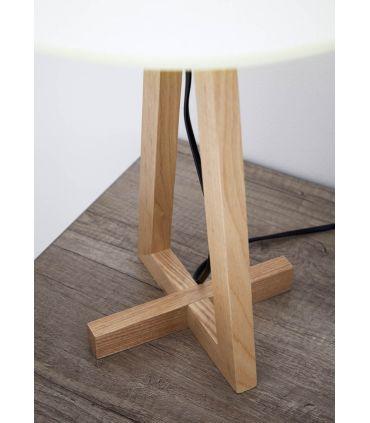 Lámpara de Mesa en Madera : Modelo LISBOA