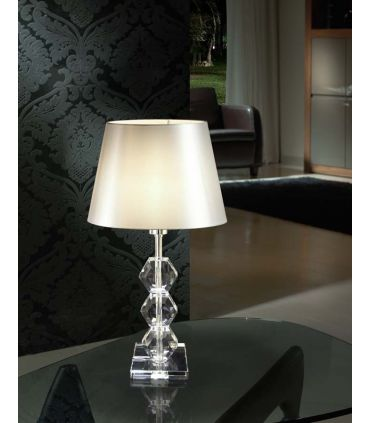 Lámpara de Mesa en Cristal : Modelo CORINTO