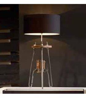 Comprar online Lámpara de Sobremesa de diseño industrial : Modelo TWISTER