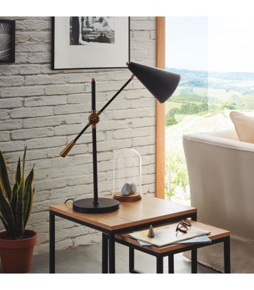 Lámpara de Mesa de estilo Industrial : Modelo ARAGON