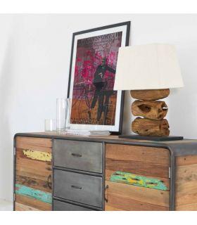 Comprar online Lámparas Rústicas de mesa : Modelo TIGA
