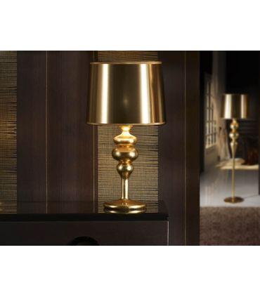 Lámpara de Sobremesa Modelo LENA Oro