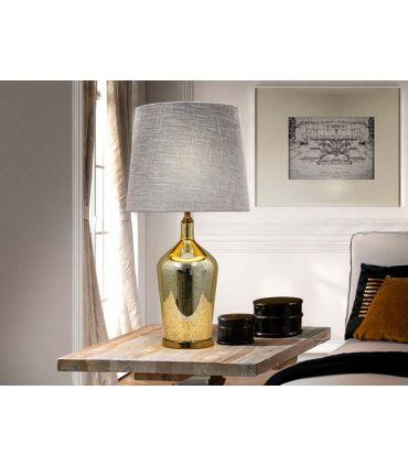 Lámpara de Sobremesa en Cristal : Modelo VETRO Oro