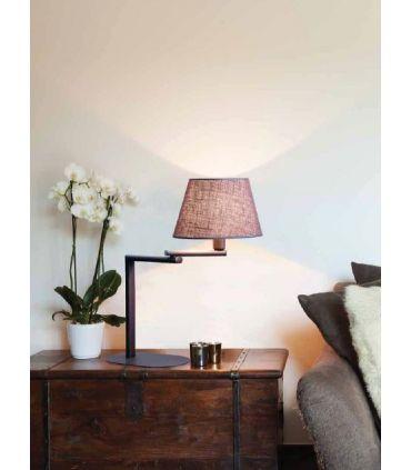 Lámpara de Sobremesa Rústica : Modelo HOTEL LC