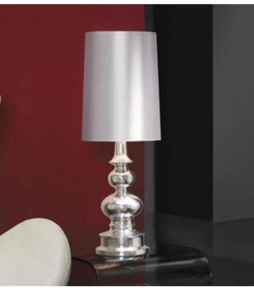 Lámparas de Sobremesa : Colección BABYLON plata