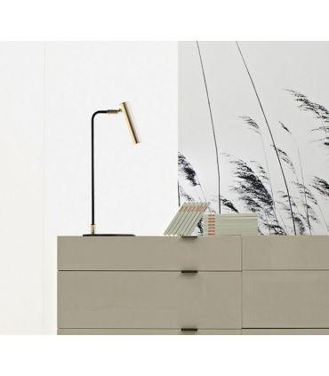 Foco de Mesa en Acero : Modelo TINDALO