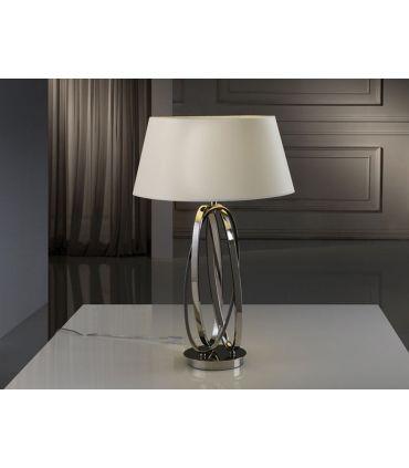 Lámparas de Sobremesa de Metal : Modelo OVALOS Hueso