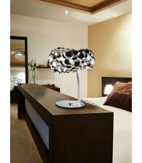 Comprar online Lámpara de Mesa de Metal Cromado : Colección NARISA