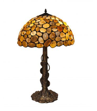 Lámpara de Sobremesa de Estilo Tiffany : Colección STONE GR