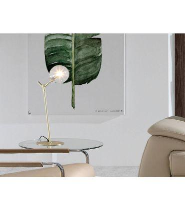 Lámpara de Mesa de Diseño en Acero : Modelo BALL