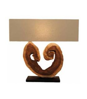 Comprar online Lámparas de mesa rústicas : Modelo AMORA