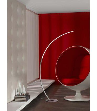 Lámpara de Pie LED de diseño moderno : Modelo TRAZO