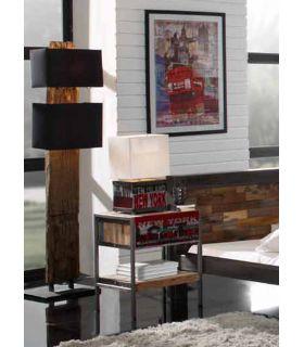 Comprar online Pie para Salón en madera y Textil : Modelo RAILWOOD
