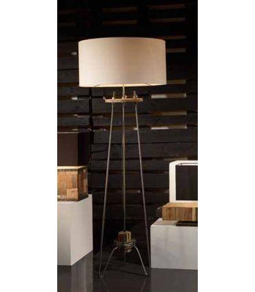 Lámparas con Pie de diseño industrial : Modelo TWISTER