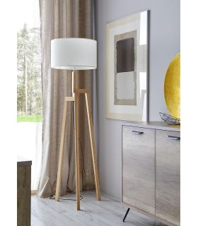 Comprar online Lámpara de Pie de Madera : Modelo ALGARVE