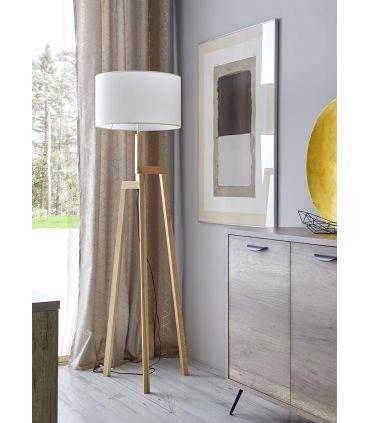 Lámpara de Pie de Madera : Modelo ALGARVE