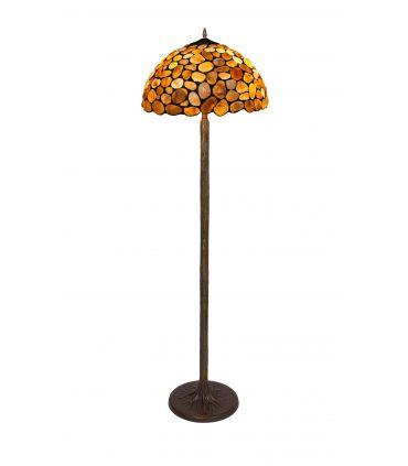 Lámpara de Pie de Estilo Tiffany : Colección STONE