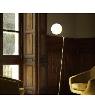 Lámpara de Pie de Diseño en Acero : Modelo BALL