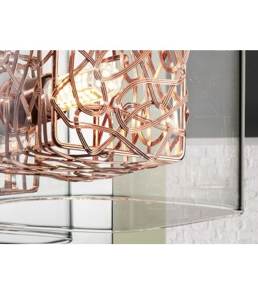 Aplique Moderno de Metal y Cristal : Colección LIOS