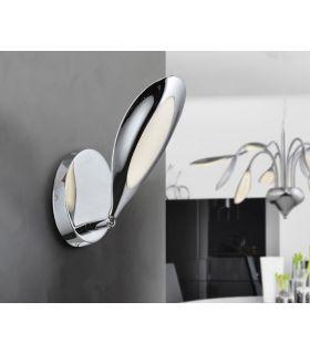 Comprar online Aplique LED de Pared Acabado Cromado de 1 luz : Colección LUCILA