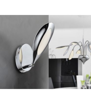 Aplique LED de Pared Acabado Cromado de 1 luz : Colección LUCILA