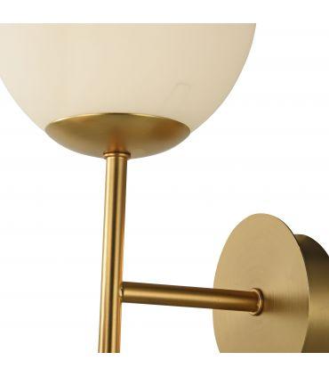 Lámpara de Pared Tulipas de Vidrio 2 luces : Coleccion ERICH