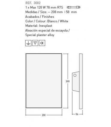 Apliques de Escayola : Modelo EVA