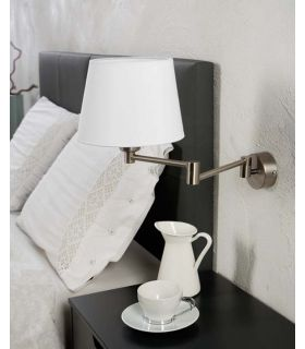 Comprar online Aplique Articulado de Metal para Dormitorios : Modelo NUBILA