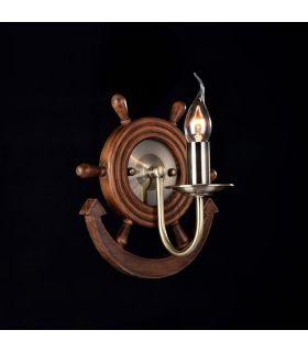 Apliques de Pared de estilo Naútico : Colección FRIGATE Bronce
