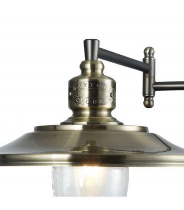 Aplique de Pared Diseño Industrial Bronce : Colección SENNA