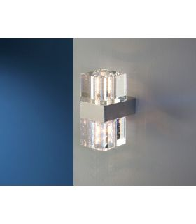 Comprar online Apliques de Diseño Moderno en Cristal : Modelo CUBIC