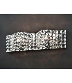 Comprar online Apliques de Cristal : Colección ONDA 2 luces