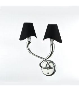 Comprar online Lámpara de Pared Moderna de Metal 2 luces : Colección BOSCAGE